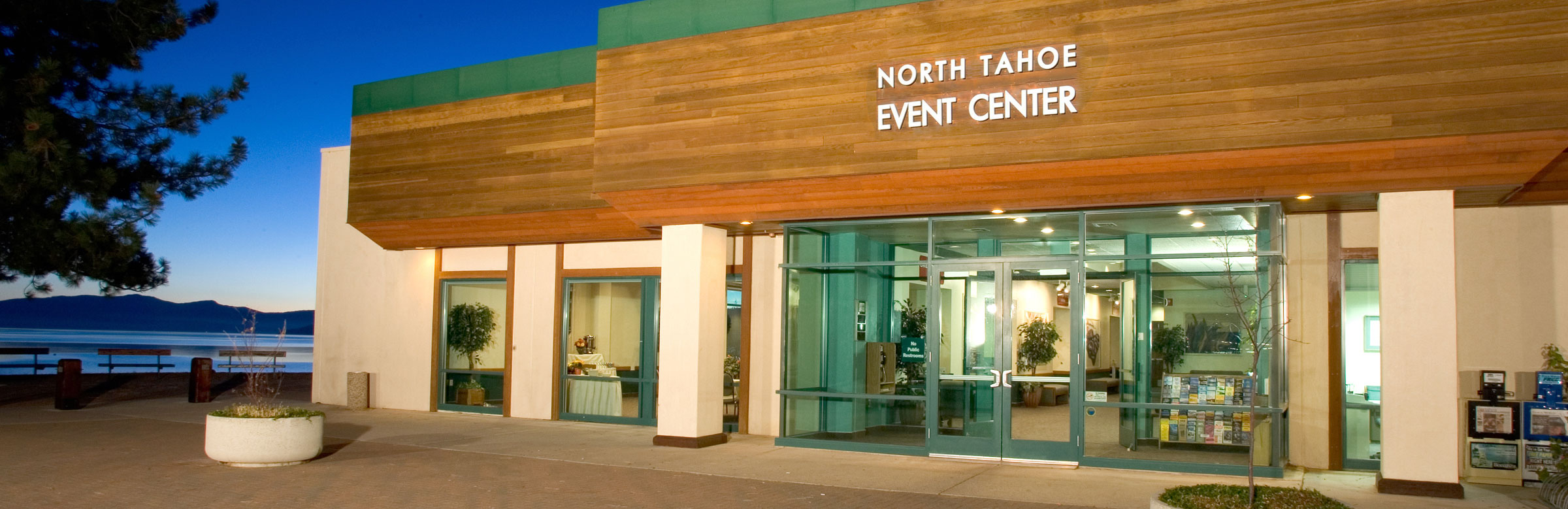Front outside of North Tahoe Event Center